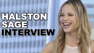 Halston Sage Talks 'Grown Ups 2' & Kissing Zac Efron