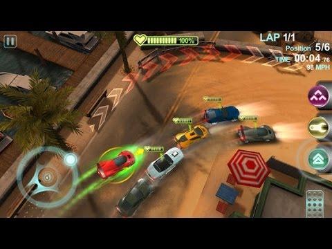 Blur Overdrive Android & IPhone / IPad GamePlay
