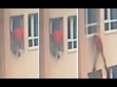 Esenyurt'ta okuldan kaçmaya çalışan 11 yaşındaki öğrenci pencereden düştü
