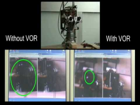 Vestibulo-ocular reflex like stabilization in humanoids.wmv