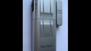 Звуковая беспроводная сигнализация на дверь A157(Звуковая беспроводная сигнализация на дверь,окна,балкон! Переживаете за маленьких детей которые играют..., 2015-05-17T10:51:00.000Z)