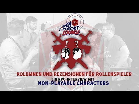 RPC 2017 - Interview mit den Non Playable Characters auf der Role Play Convention