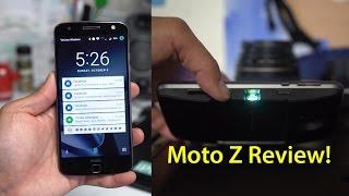 Moto Z & Moto Mods Review!