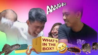 WHATS IN THE BOX CHALLENGE!! ft CONGTV&JunnieBoy