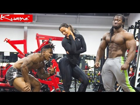 Explosive Leg Workout for men and women - Kwame Duah