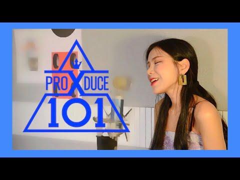 &39; 프로듀스 X 101 &39; 미션곡  크레파스 - 이뻐이뻐 COVER BY NIDA