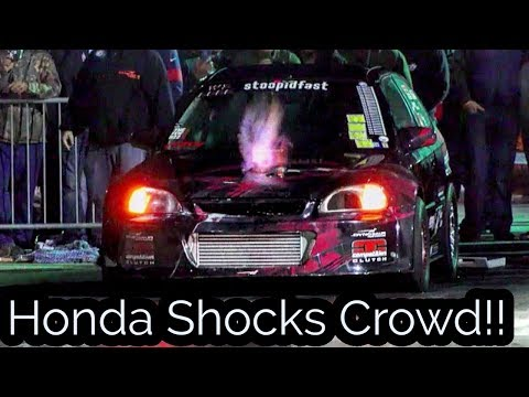 Honda Shocks People At EMP No Prep Event!!