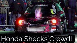 Honda Shocks People at EMP No Prep Event!!