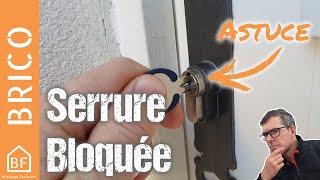 Conseil Bricolage : Que faire lorsque sa serrure est bloquée ?