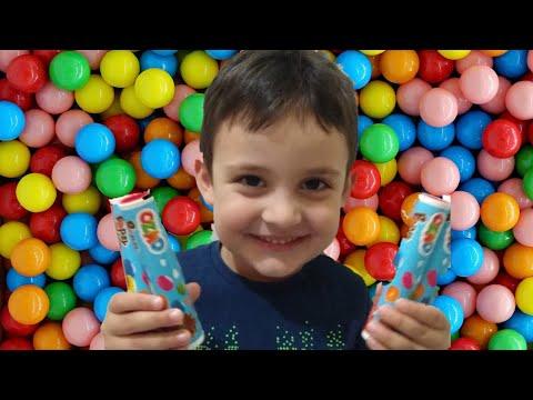 Ozmo &Ozmo Popsy& Çikolatalı Draje Açtık &Sürpriz Kutu Açımı