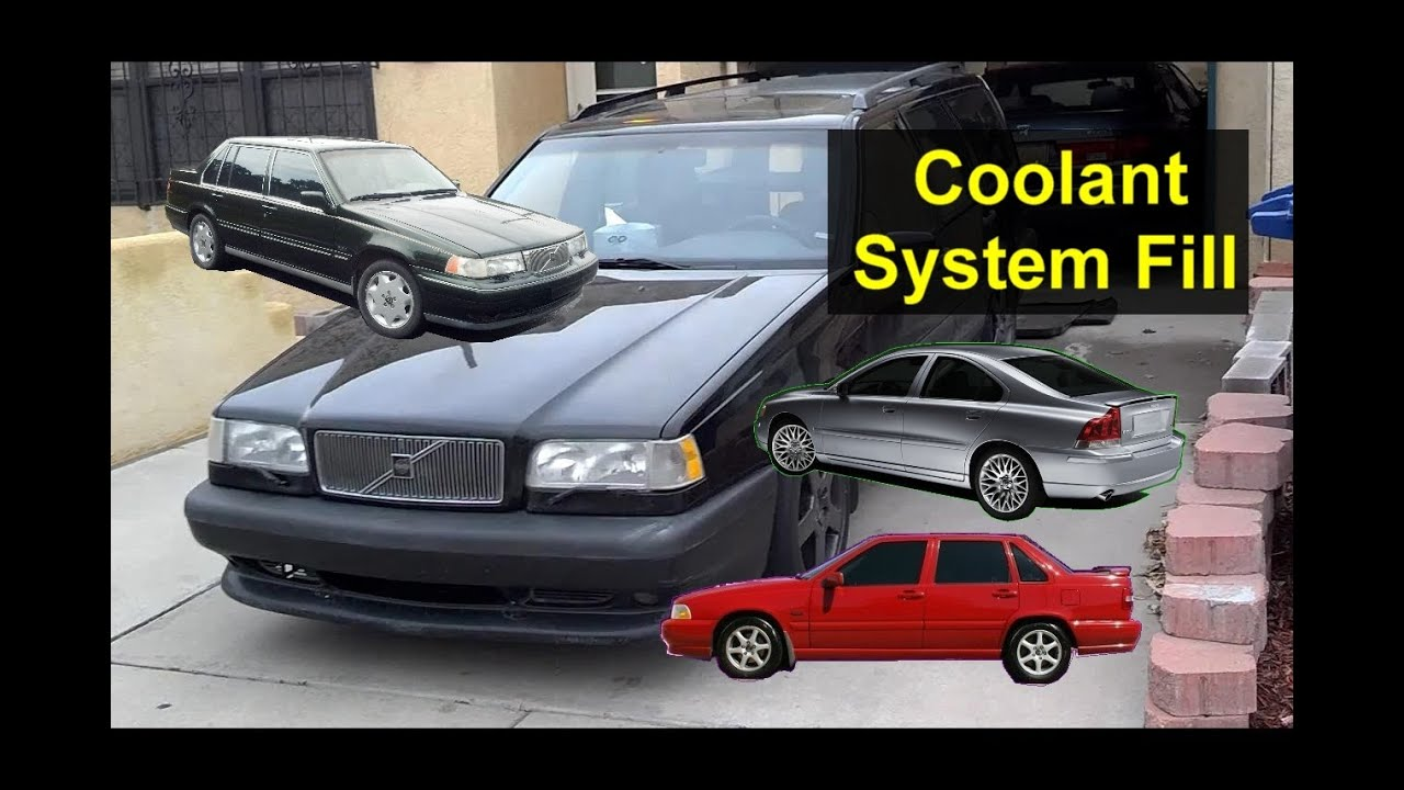 Volvo coolant system fill and top off - Auto Repair Series