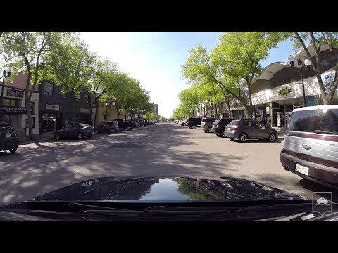 University Drive & Downtown Lethbridge, AB (Time Lapse)