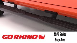 In the Garage™ with Performance Corner®: Go Rhino 1000 Series Step Bars