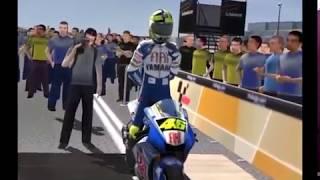 #ValenciaGP - MotoGP 2007 - Valentino Rossi - LEGEND (Gameplay+Replay)