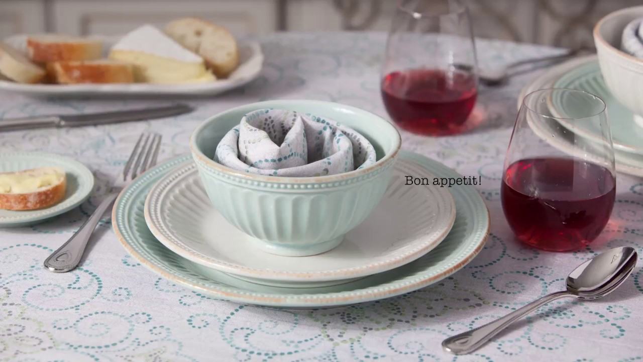 Watch the video for Lenox\u0026reg; French Perle Groove Dinnerware Collection in White & Lenox® French Perle Groove Dinnerware Collection in White - Bed Bath ...