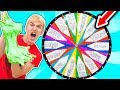MYSTERY WHEEL OF SLIME CHALLENGE!!