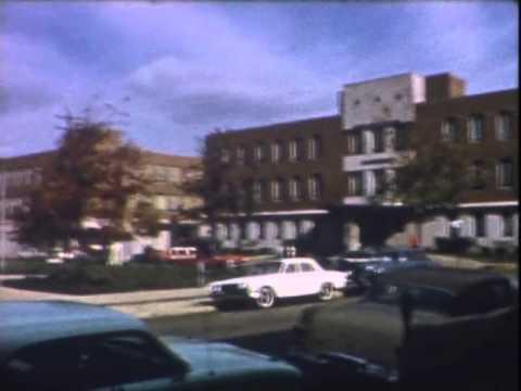 Terre Haute Indiana Nov 1961 ISU downtown