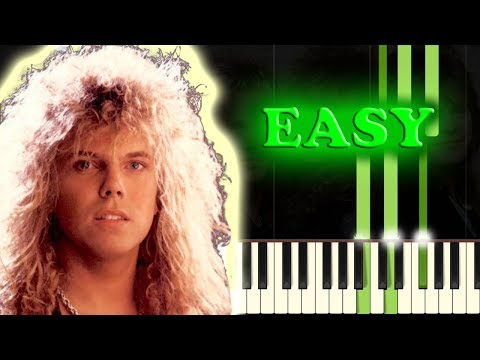 EUROPE - THE FINAL COUNTDOWN - Easy Piano Tutorial