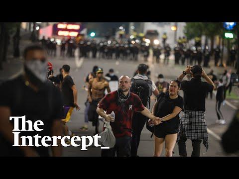 """We're Trapped!"" — Inside the Violent Police Kettle of Black Lives Matter Protesters in Charlotte"