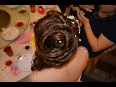 wedding dinner hair style get ready wedding dinner vintage makeup with design 8360
