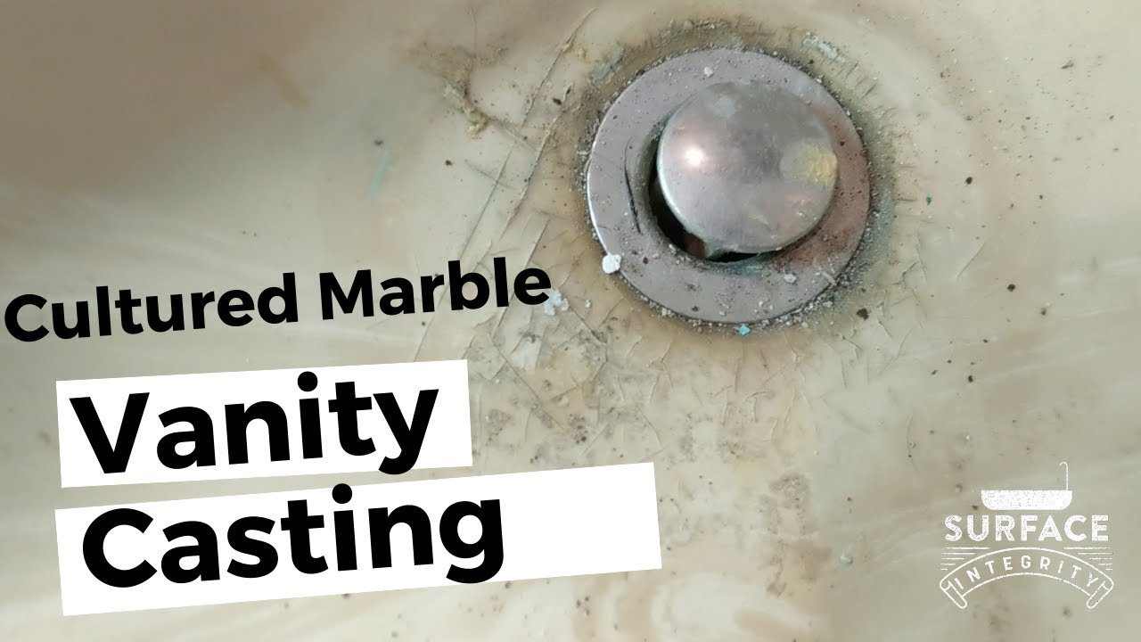 cultured marble vanity resurfacing before after surface integrity montreal