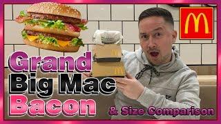 McDonald's Grand Big Mac Bacon Review (And Size Comparison)