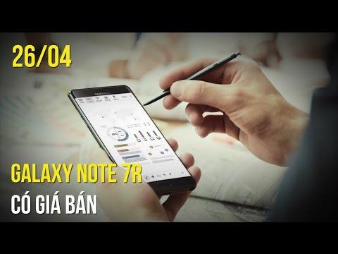 Galaxy Note 7 tân trang có giá bán, HTC U Ultra, U Play giảm giá sốc!