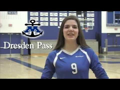 Dresden Pass:  Minnetonka H.S. (MN) Class of 2019 Volleyball Recruitment Video