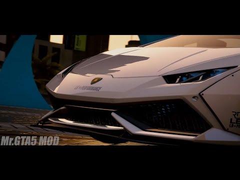 【GTA5 実車MOD】 ランボルギーニ・ウラカン リバティーウォーク仕様 LAMBORGHINI HURACAN LIBERTY WALK