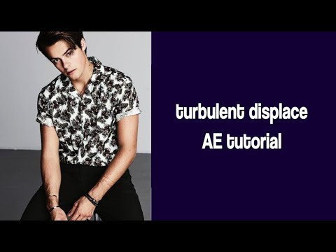 After Effects - Turbulent Displace Tutorial