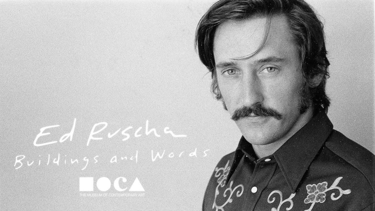 ed ruscha buildings and words youtube