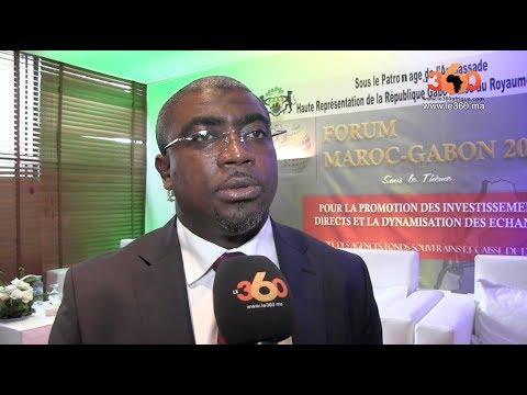 Le360.ma • L'ambassadeur du Gabon au Maroc explique les enjeux du Forum Maroc-Gabon