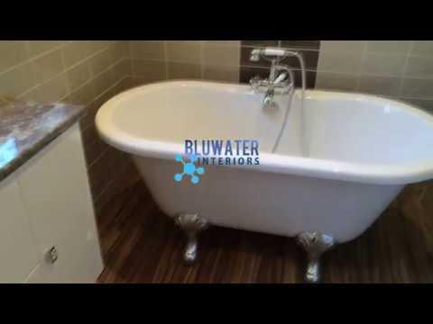 Bathroom Design & Installation by Bluwater Interiors