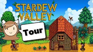 Stardew Valley - NON Let's Play Farm Tour! [Summer Year 2]