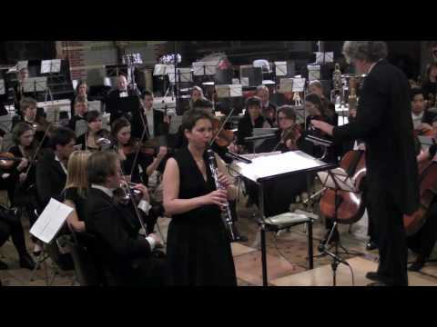 Claude Debussy - Rhapsody for clarinet and orchestra