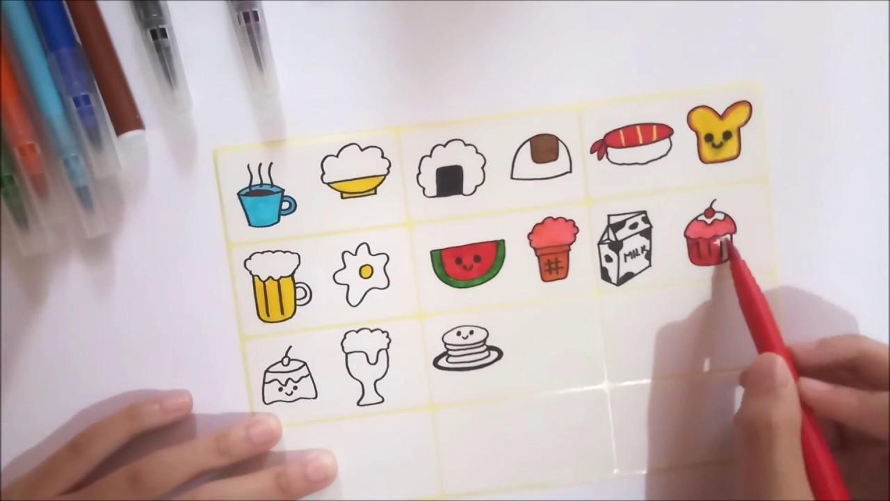 Diy Kawaii Stickers Without Sticker Paper Cara Membuat Stiker Tanpa Kertas Stiker Youtube