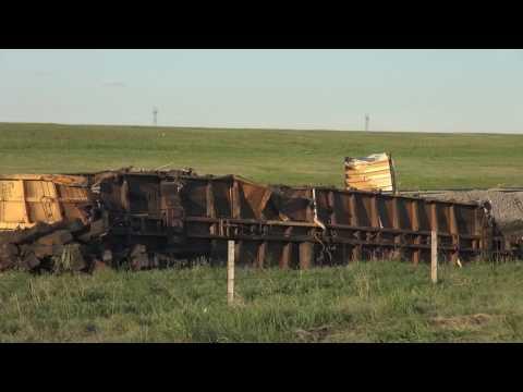 TRRS 496: Union Pacific Derailment Aftermath @ Cheyenne, WY