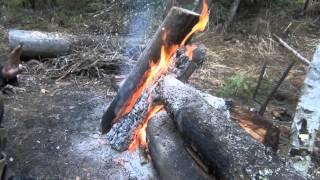 видео Лодка народов дальнего востока - способ рыбалки на балду
