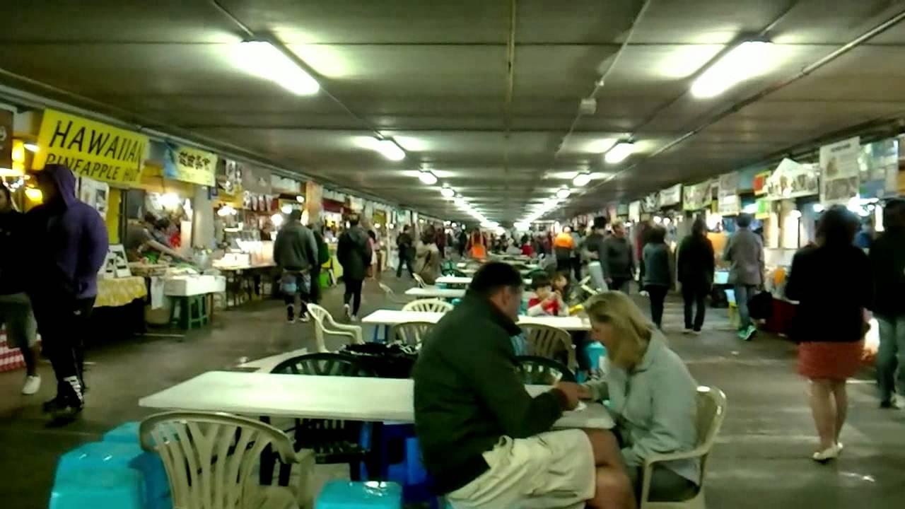 Food Stalls Auckland S Pakuranga Night Market Youtube