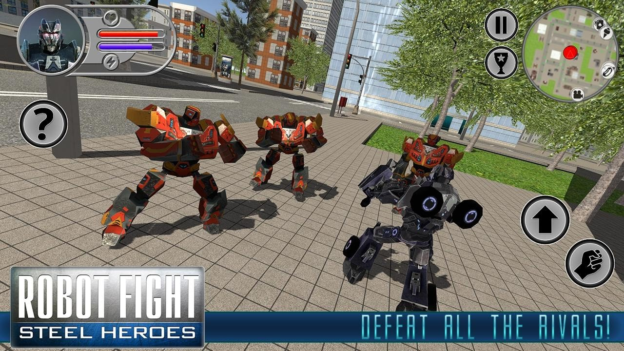 Robot Fight: Steel Heroes (By Best Simulator Games) Android Gameplay HD