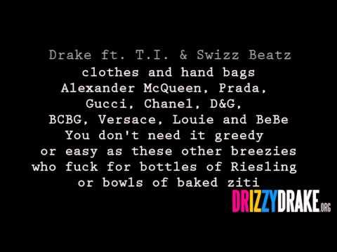Drake ft. TI & SB - Fancy Lyrics [VIDEO]