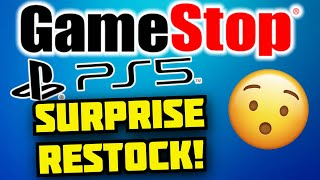 GameStop JUST DID A SURPRISE PS5 Restock! MORE TOMORROW?