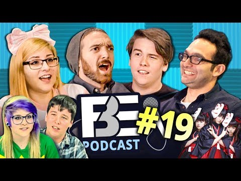 Download Youtube: Teens React, Jump Scares, Babymetal (FBE PODCAST Ep #19)