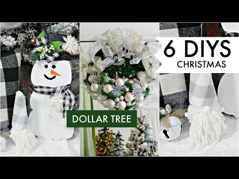 "🎄6 DIY DOLLAR TREE CHRISTMAS DECOR CRAFTS 2019🎄""I Love Christmas"" ep 5 Olivia's Romantic Home DIY"