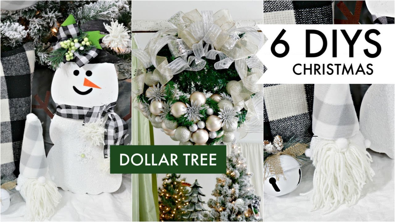 6 Diy Dollar Tree Christmas Decor Crafts 2019 I Love Christmas Ep 5 Olivia S Romantic Home Diy