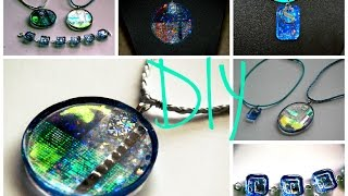 DIY AQUA Collection How to Make Resin Jewelry