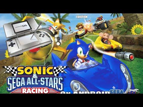 Sonic & Sega All-stars Racing Transformed Nintendo Ds Ediotion On Android
