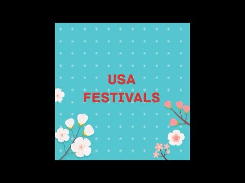 Festivals in USA!! Major festivals in USA!! Festivals USA 2017!!