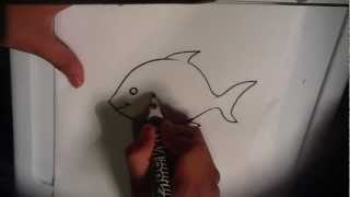 Easy Things to Draw - How to Draw a Fish
