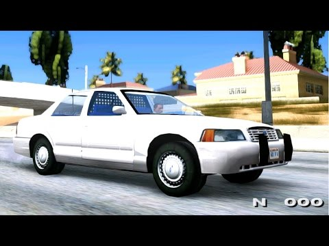 FBI Crown Vic - GTA MOD _REVIEW